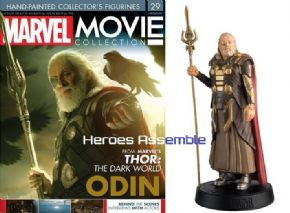 Marvel Movie Collection #029 Odin Figurine Eaglemoss Publications
